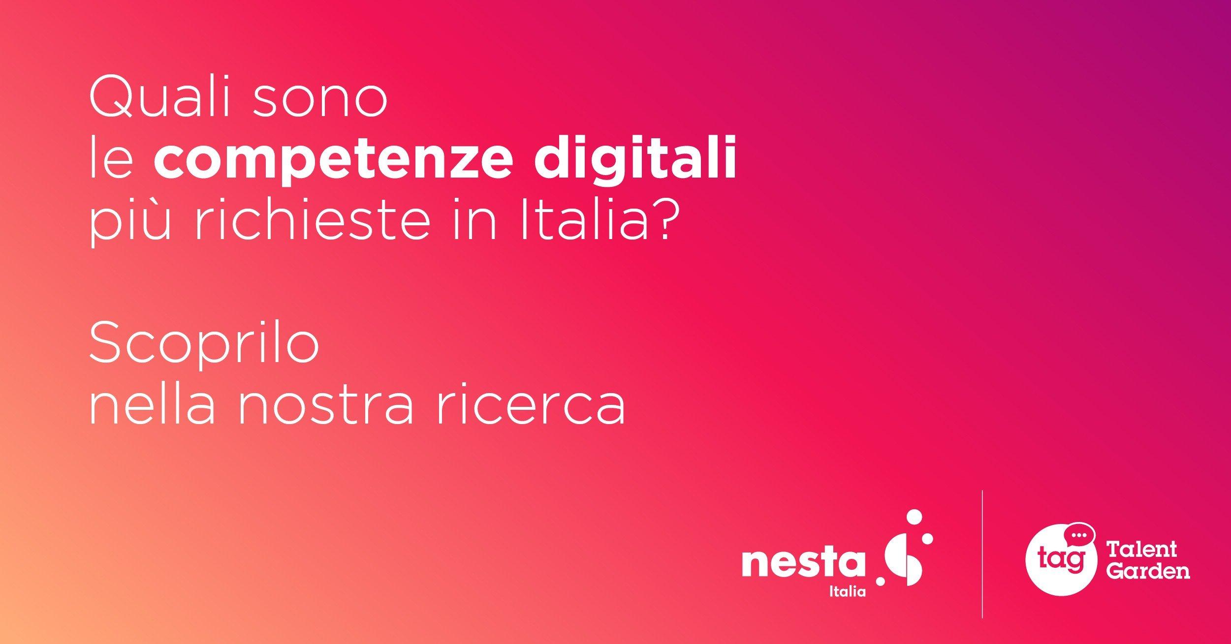 Competenze digitali: ecco le più richieste in Italia