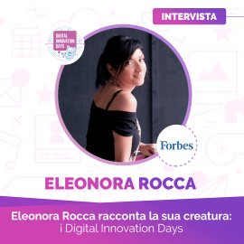 Intervista a Eleonora Rocca di Digital Innovation Days (ex Mashable)